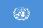 Flagge der UNO